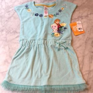 NWT frozen swim cover up